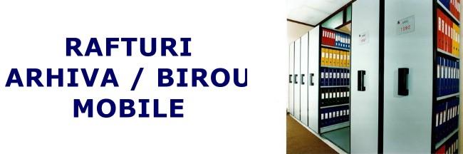 Rafturi mobile arhiva / birou-2
