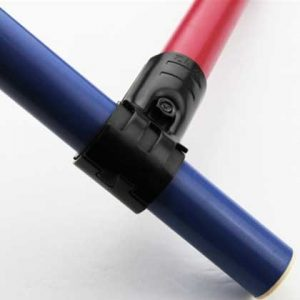 imbinare metalica cu insertie din plastic